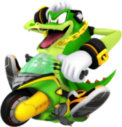 Sonic Riders Velocity Vector Artwork