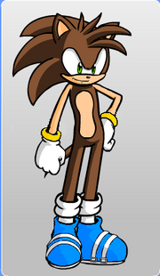 Bladez the Hedgehog (with ring cuffs!).png