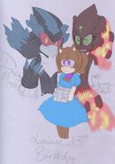 Happy 13th b day laina by 1feellikeamonster-d6wp7qg