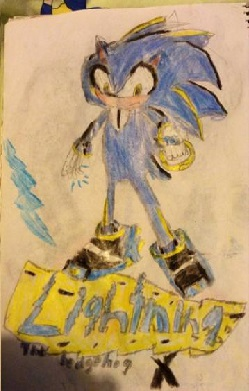 Lightning the Hedgehog X