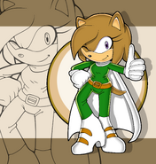 Ramonna the hedgehog sonic channel by piesamir-d7r6kkr