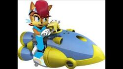 Sonic Riders Velocity - Princess Sally Acorn Unused Voice Clips
