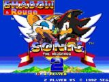 Shadow & Rouge in Sonic 2