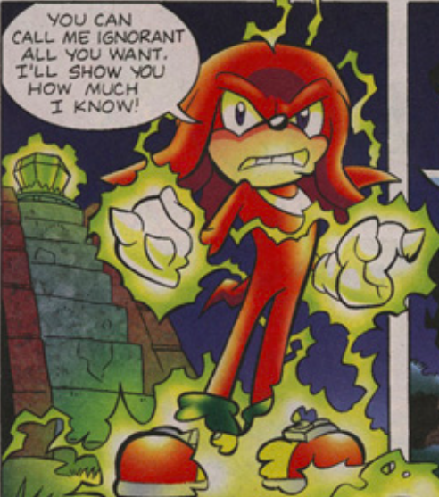 Knuckles the Echidna/Super Knuckles