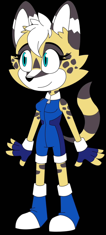 Ferne the Serval