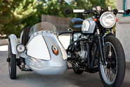 Motorcycle-sidecar