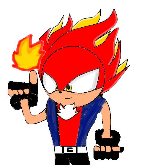 Flare The Inferno Hedgehog