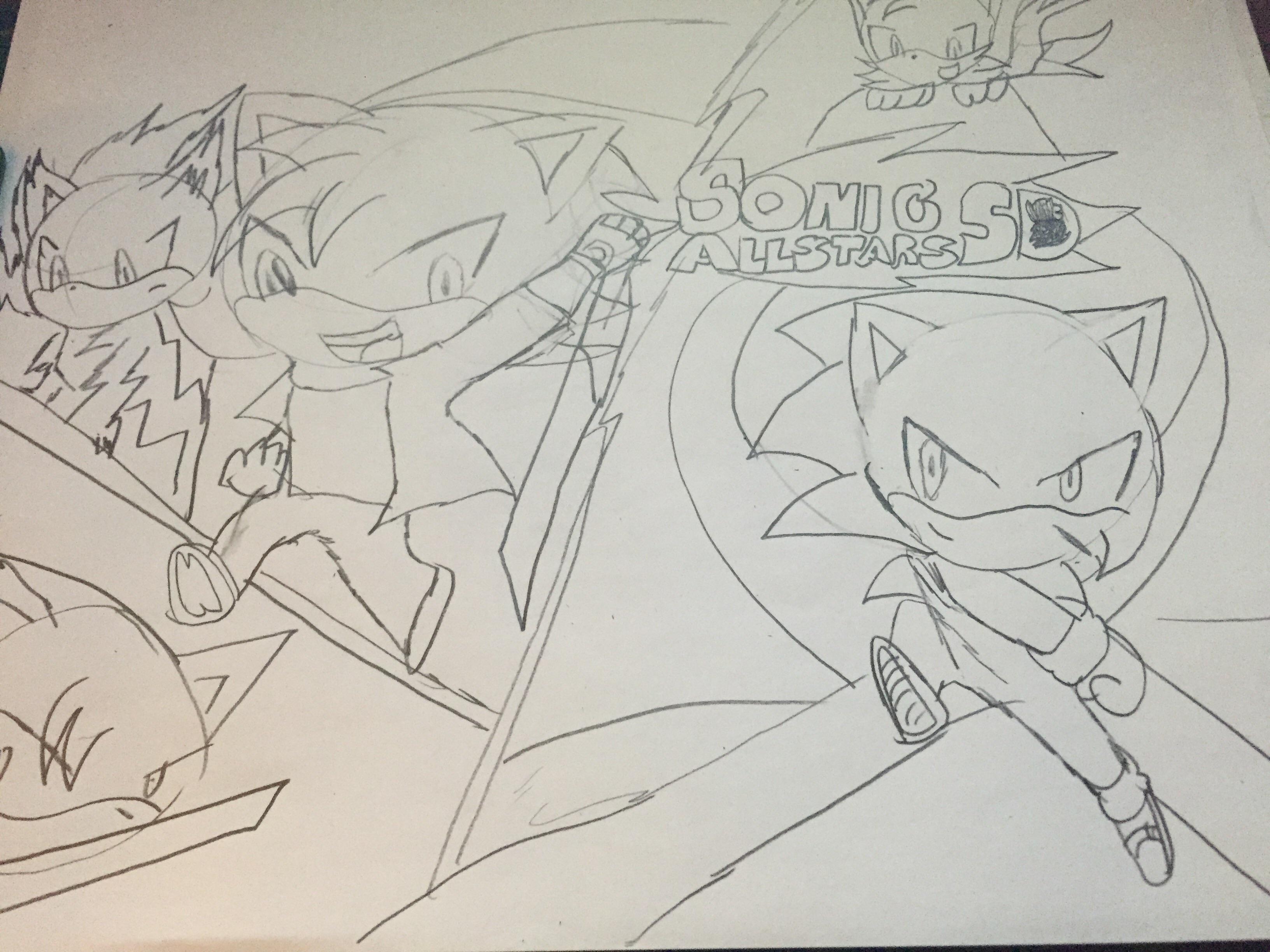Sonic Allstars Pockie Adventure