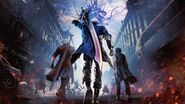Devil May Cry 5 - OST - A Man's Face Peeks Through the Robes