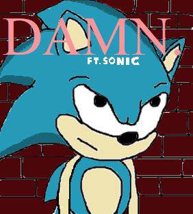 Sonic in DAMN.
