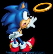 Classic Sonic (Sonic Dimensions)