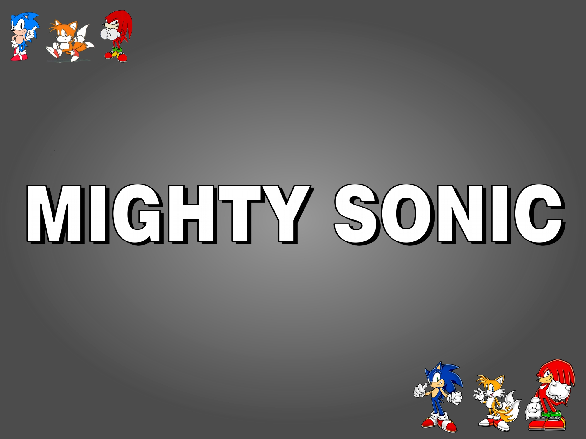 Mighty Sonic
