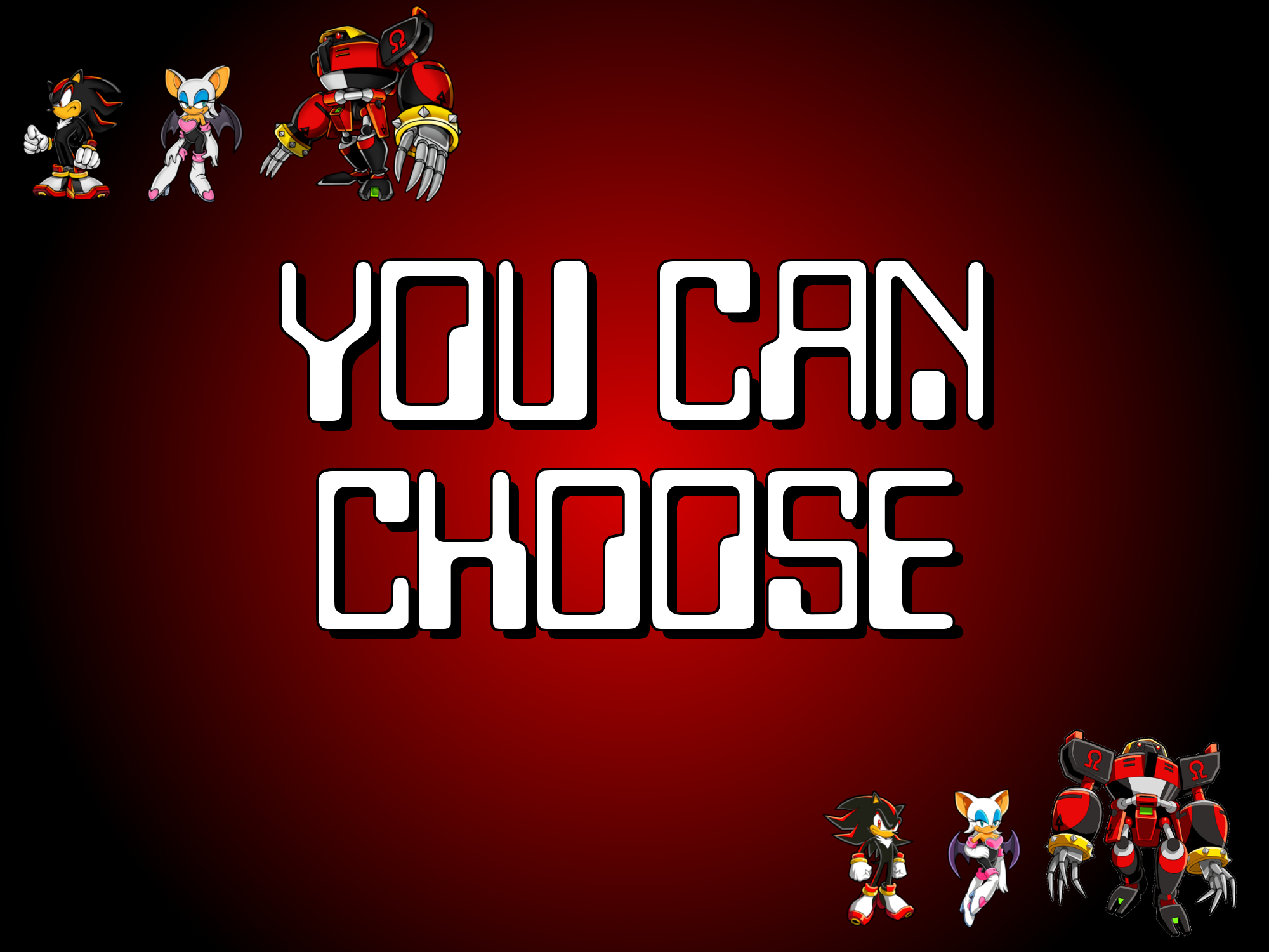 You Can Choose