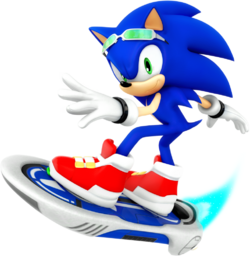 Sonic Riders Velocity Sonic Artwork.png