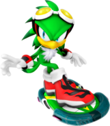 Sonic Riders Velocity Jet Artwork