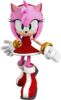 Amy Rose in Sonic Forces artwork