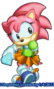 Classic Amy (Sonic Dimensions)