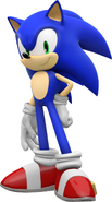 01 Sonic 3D Sonic