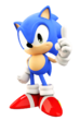 Sonic the hedgehog 4 pose classic upgrated by finland1-d7f3e6x