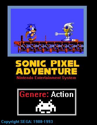 Sonic Pixel Adventure (NES)