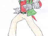 Knuckles the Echidna (Crimson Flame Continuity)