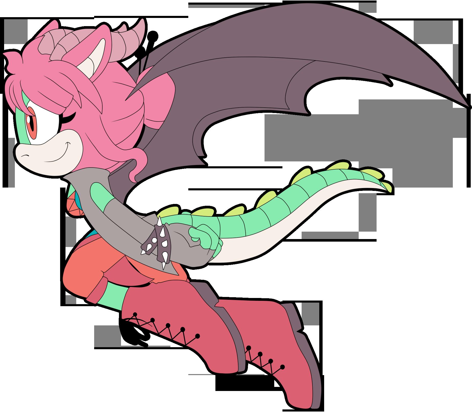 Petunia the Dragon