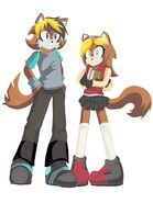 Brother and sister by 1feellikeamonster-d8pc0a1