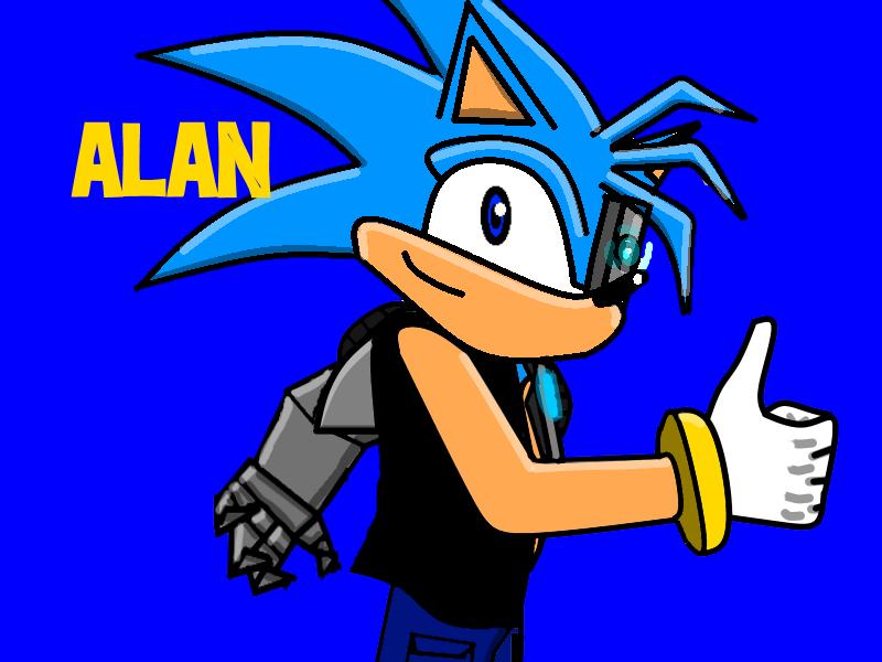 Alan the Hedgehog