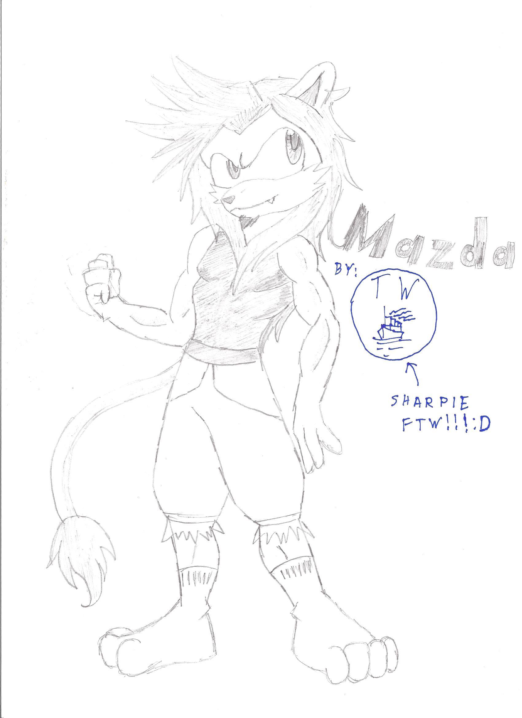 Mazda the Lion