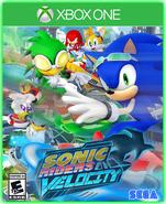 Sonic Riders Velocity Xbox One Boxart