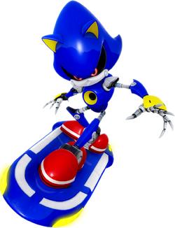 Sonic Riders Velocity Metal Sonic Artwork.png