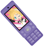 Fuchsia's Cell Phone