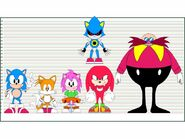 Classic sonic characters height chart by delvallejoel-d97bese