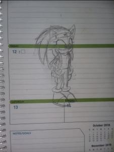 Alexia the Hedgehog/Sonic Reborn Version