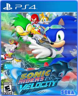 Sonic Riders Velocity PS4 Boxart.png