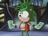 Manic the Hedgehog (IncaIceBunny's Universe)