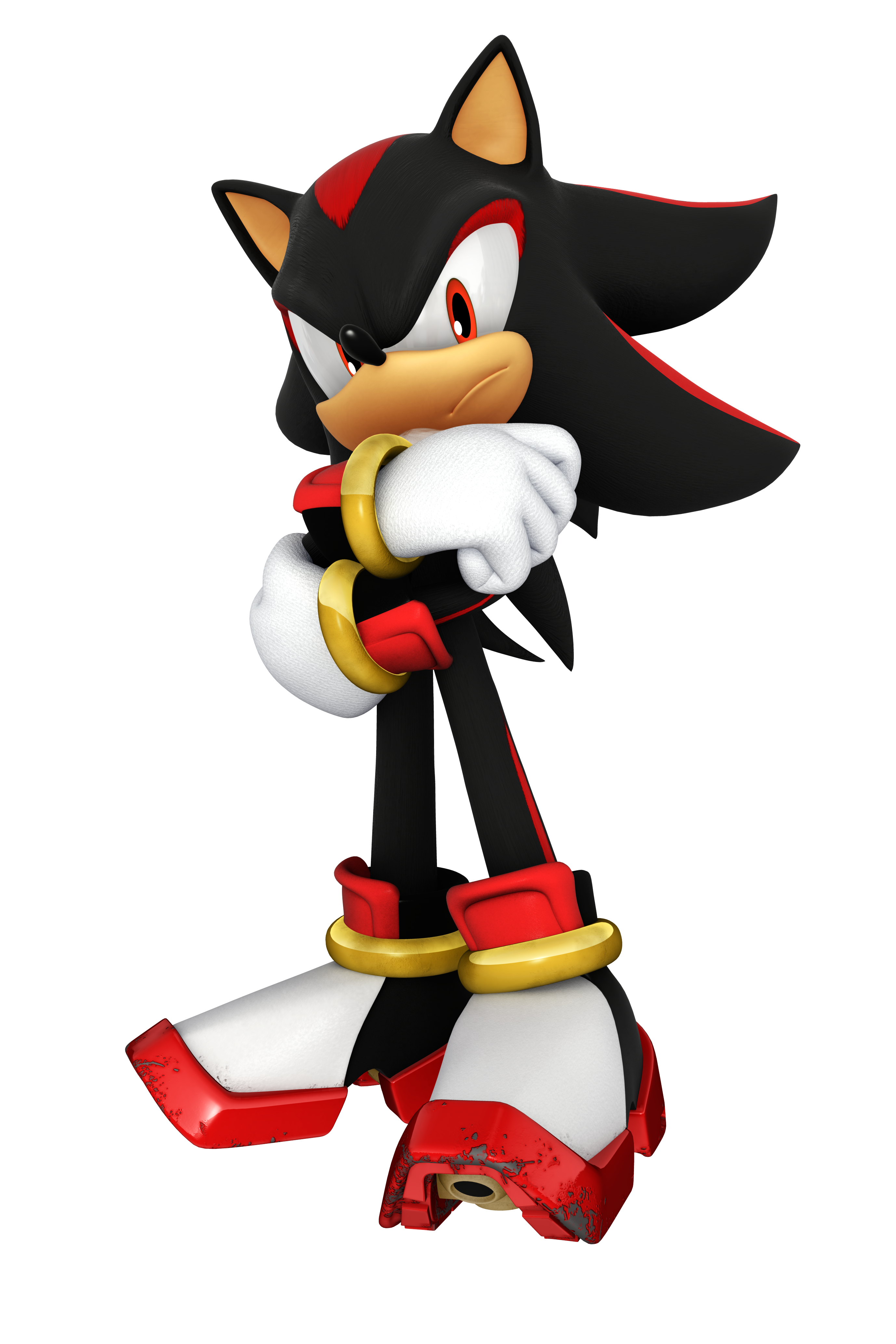 Shadow the Hedgehog (BearfootTruck's Universe)