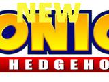 New. Sonic the Hedgehog