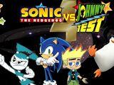 Sonic the Hedgehog vs. Johnny Test 4: Galactic Threats