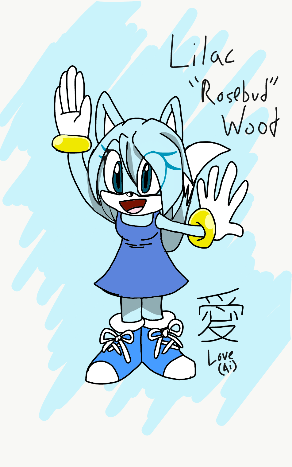 """Lilac """"Rosebud"""" Wood"""