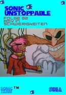 Sonic Unstoppable Folge 002 Amy in Schwierigkeiten Front Cover