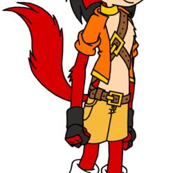 Ardente the Stoat