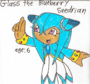 Glass the Blueberry Seedrian