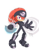 Shade the echidna by evablack01-d36p2tt