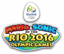 Mario & Sonic ai Giochi Olimpici di Rio 2016 - Logo ENG.png