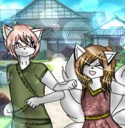 Akito and sayaka child