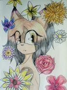 Aliah with flowers weil ich Bock hatte und nun für alle Charad eine Galerie mache