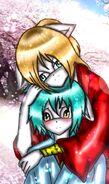 Young runshi and sayaka