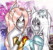 Flerea and yukiko heart
