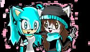 Laura and Luna